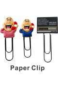 Rubberized Paper Clip (2D)