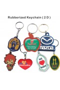 Rubberized Key-Chain
